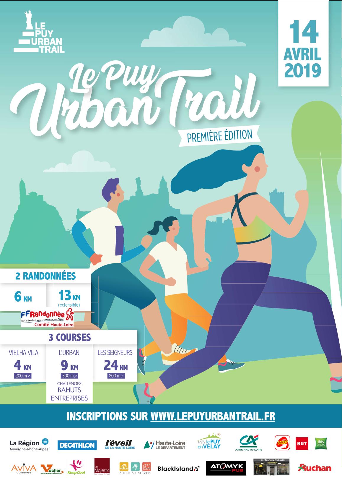 Affiche Le Puy Urban Trail