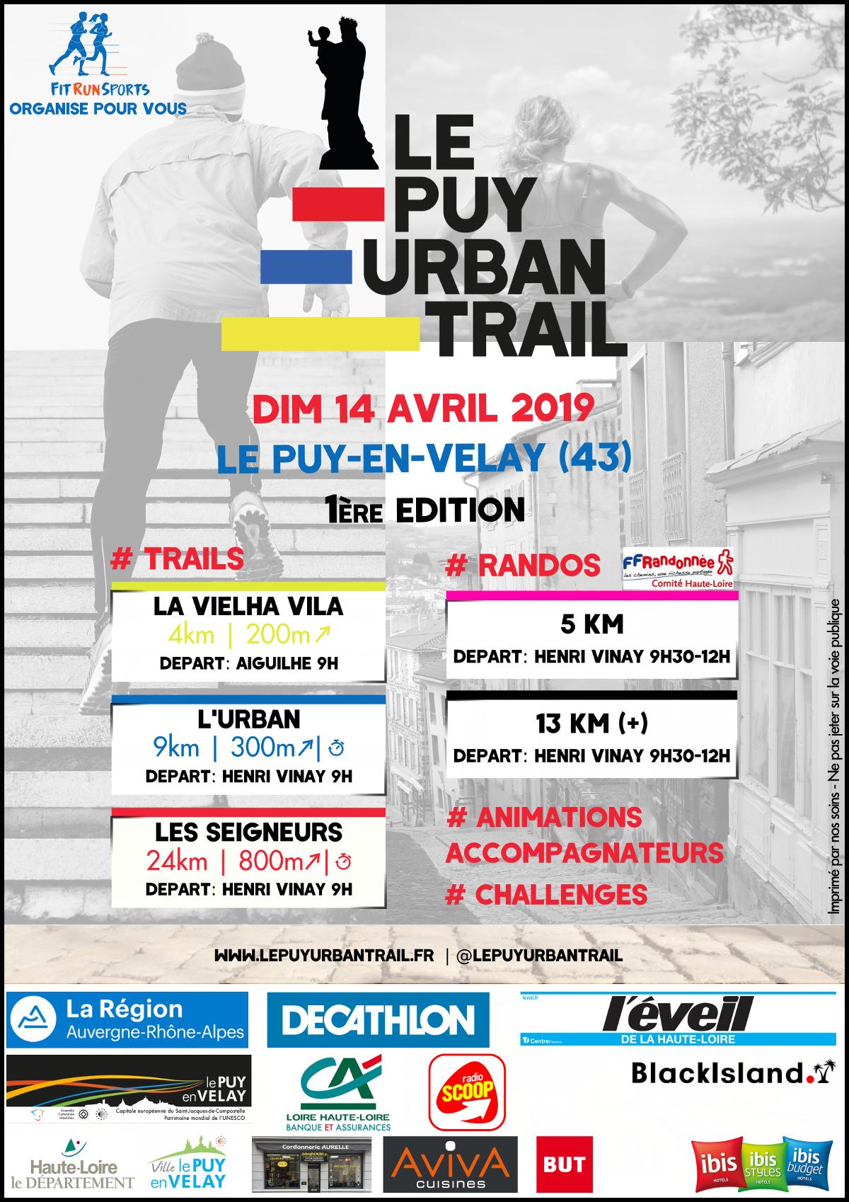 Le Puy Urban Trail 1ère édition
